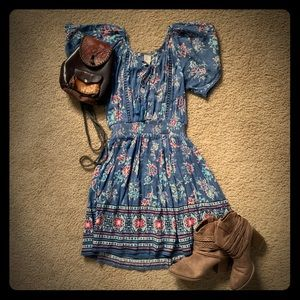 NWT American Rag Country/Boho Dress